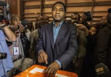 Zambian opposition leader Hakainde Hichilema