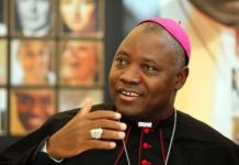 Pope Francis has appointed Most Reverend Ignatius Kaigama as Archbishop of Catholic Archdiocese of Abuja