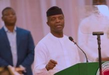 Vice President Yemi Osinbajo will speak to notable German business leaders in Berlin, Germany