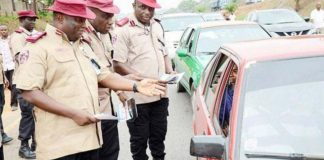 FRSC to begin operation show your licence in Lagos
