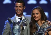 Cristiano Ronaldo and Lieke Martens win awards