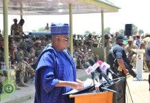 Gov Shettima receives donation of N360m from northern governors.