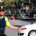 Van rams into crowd in Barcelona terror attack
