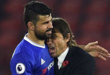 Costa has fallen out with manager Antonio Conte