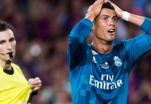 Ronaldo has been banned for five matches