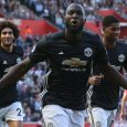 Lukaku scored his eighth goal in eight United matches after 20 minutes