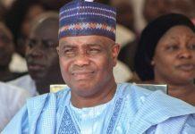 Sokoto State governor Aminu Tambuwal has been re-elected