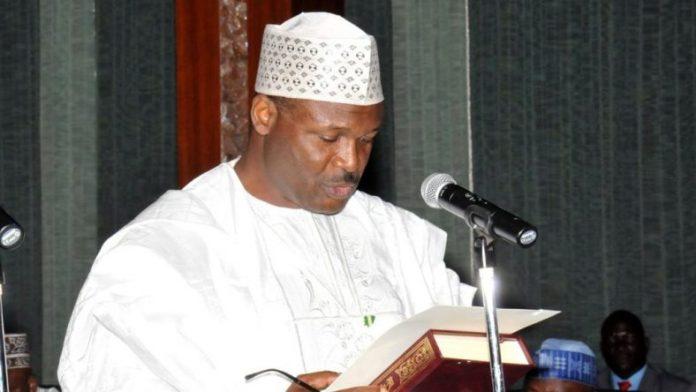 INEC chairman Prof Mahmood Yakubu