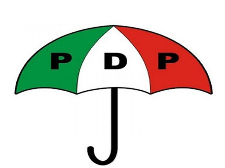 PDP logo are masters vote buying claims Senator Ali Ndume