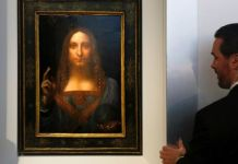 'Salvator Mundi' is one of fewer than twenty paintings by Leonardo da Vinci known to exist