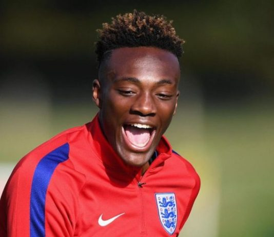 Tammy Abraham has scored 10 goals for Chelsea in the Premier League