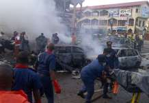 Suicide bombers have killed 30 in Borno state