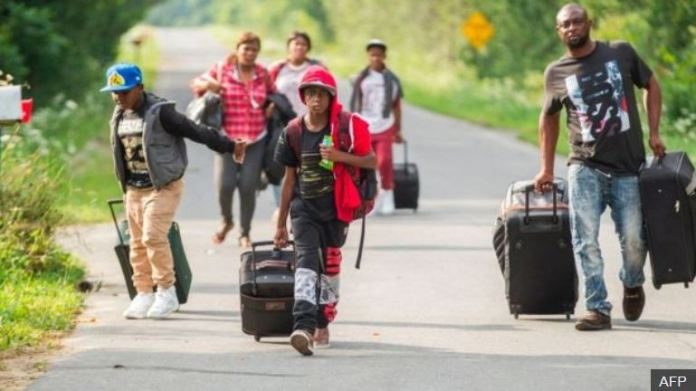 Asylum seekers with valid US visas are crossing into Canada illegally forcing cities to come up with new contingency plans