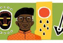 Chinua Achebe's Google Doodle