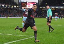 Alexis Sanchez scored a stoppage time penalty
