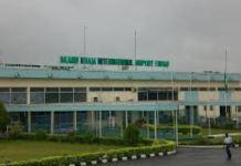 Akanu Ibiam International Airport in Enugu is under repair by FAAN
