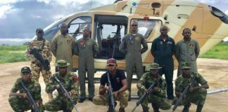 FILE PHOTO: The Nigerian Air Force have destroyed Boko Haram hideouts in northern Borno
