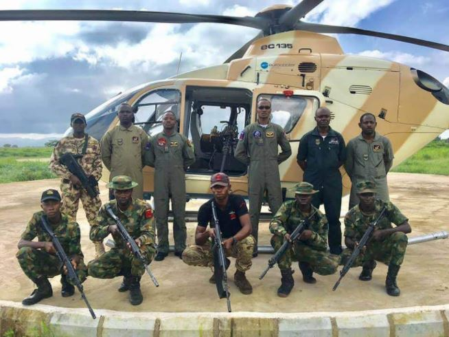 FILE PHOTO: The Nigerian Air Force have destroyed ISWAP in northern Borno