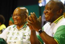 Jacob Zuma may not really welcome the victory of Cyril Ramaphosa