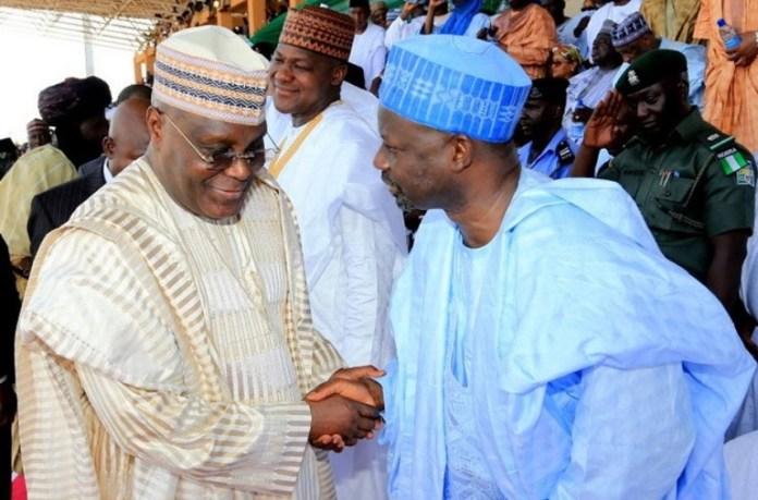 Governor Hassan Dankwambo has congratulated Atiku Abubakar