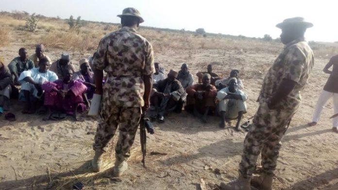 FILE PHOTO: Nigerian military have killed 11 terrorists