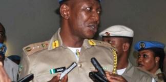 Peace Corps Commandant, Dickson Akoh