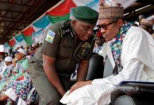 President Muhammadu Buhari and IGP Ibrahim Idris
