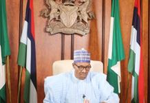 President Muhammadu Buhari is yet to address Nigerians on coronavirus