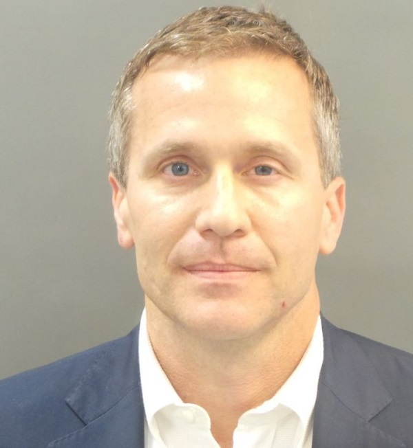 Missouri Governor Eric Greitens arrested, charged over
