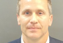 Missouri Governor Eric Greitens was docked by the police in February