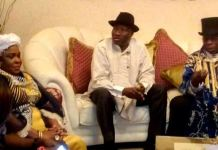 Former Nigeria presidents, Goodluck Jonathan and Olusegun Obasanjo
