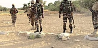 A Nigerian soldier killed three of his colleagues in Borno