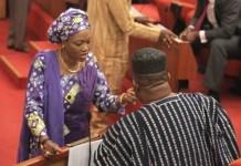 Senator Oluremi Tinubu returned unopposed
