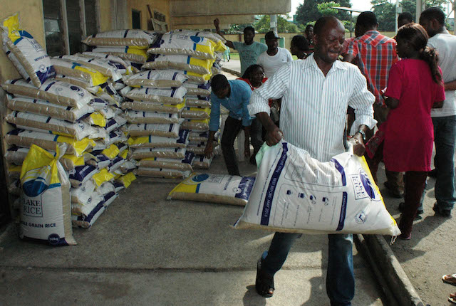 FG plans to crash rice prices before Christmas