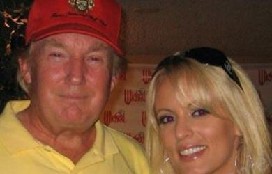 President Donald Trump denies having an affair with Stormy Daniels but paid her $130,000 through his personal lawyer, Michael Cohen