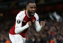 Alexandre Lacazette is subject of transfer from Arsenal