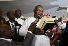 President Julius Maada Bio of Sierra Leone Photo: Reuters