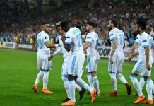 Marseille scored twice to beat RB Salzburg in the first leg of Europa League semi final at Stade Velodrome