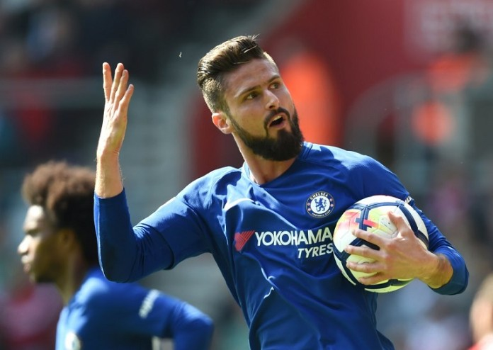 Olivier Giroud is out of favour at Chelsea under Frank Lampard