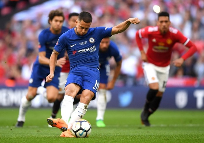 Eden Hazard was named Player of the Month after a blistering start to the season