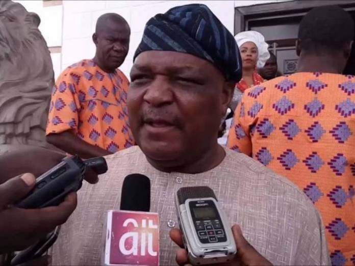 Former Taraba governor Jolly Nyame has been jailed 14 years for misappropriating state funds