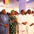 Governor Akinwunmi Ambode, Dr Paul Adefarasin on the third Anniversary Thanksgiving Service of the Lagos State government held today