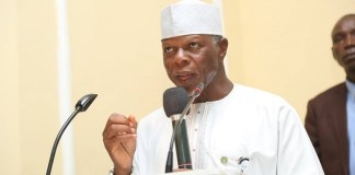 Comptroller General of the Nigeria Customs Service, Col. Hameed Ali (retd)