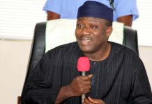 Governor Kayode Fayemi of Ekiti is chairman of Nigeria's Governors Forum