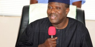 Governor Kayode Fayemi of Ekiti is chairman of Nigeria's Governors Forum