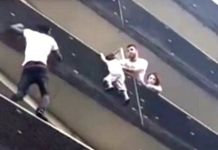 Mamoudou Gassama referred to as the 18th Spiderman pulled himself from balcony to balcony to save a small boy