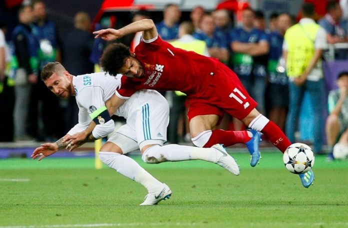 Real Madrid defender Sergio Ramos has been accused of deliberately injuring Liverpool forward Mohamed Salah