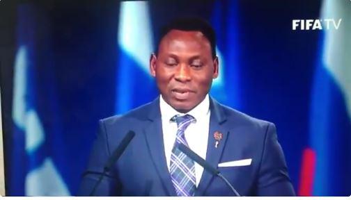 Daniel Amokachi has been appointed Nigeria's Football Ambassador