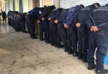 Entire police force of Ocampo have been detained by federal agents following the death of Fernando Angeles Juarez