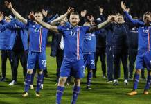 Iceland players have been allowed to have sex but only with their wives Photo: AP